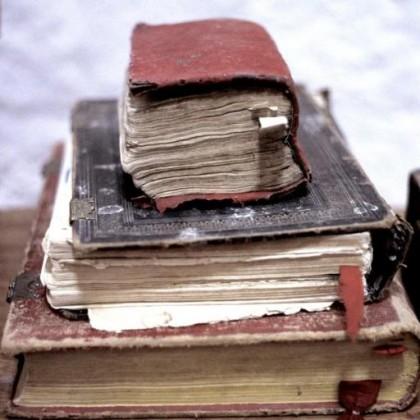 vecchi libri di mio padre