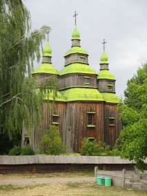 old wood church