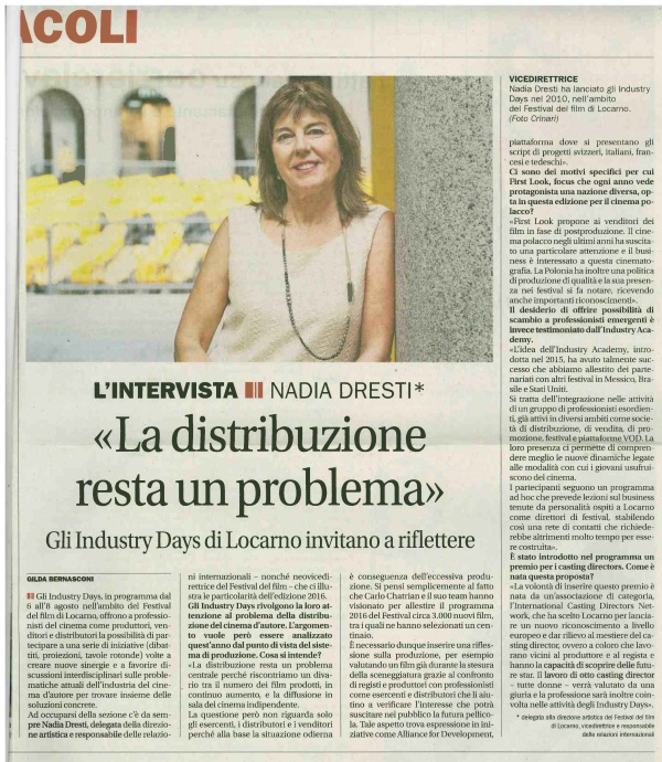 Intervista Nadia