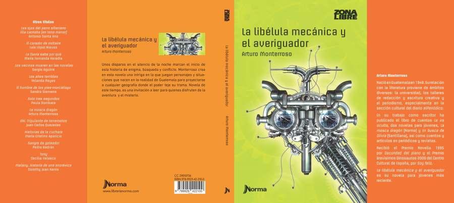 Cubierta La libélula mecánica-1