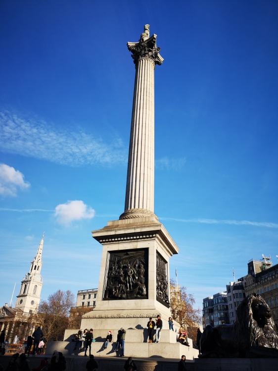 Nelson's Column Trafalgar Square Obelisc
