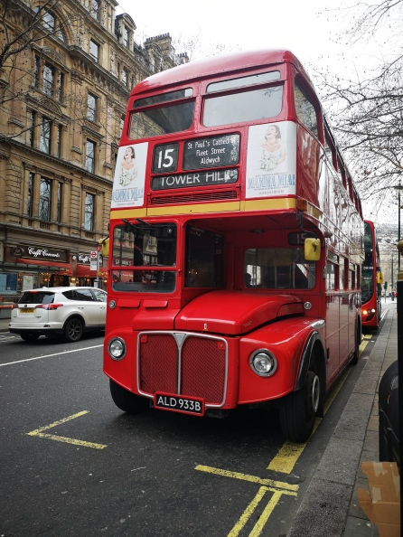 Typical London bus