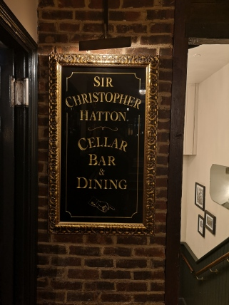 Sir Christopher Hatton Restaurant