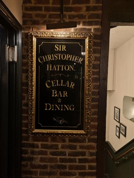 Sir Christopher Hatton Restaurant
